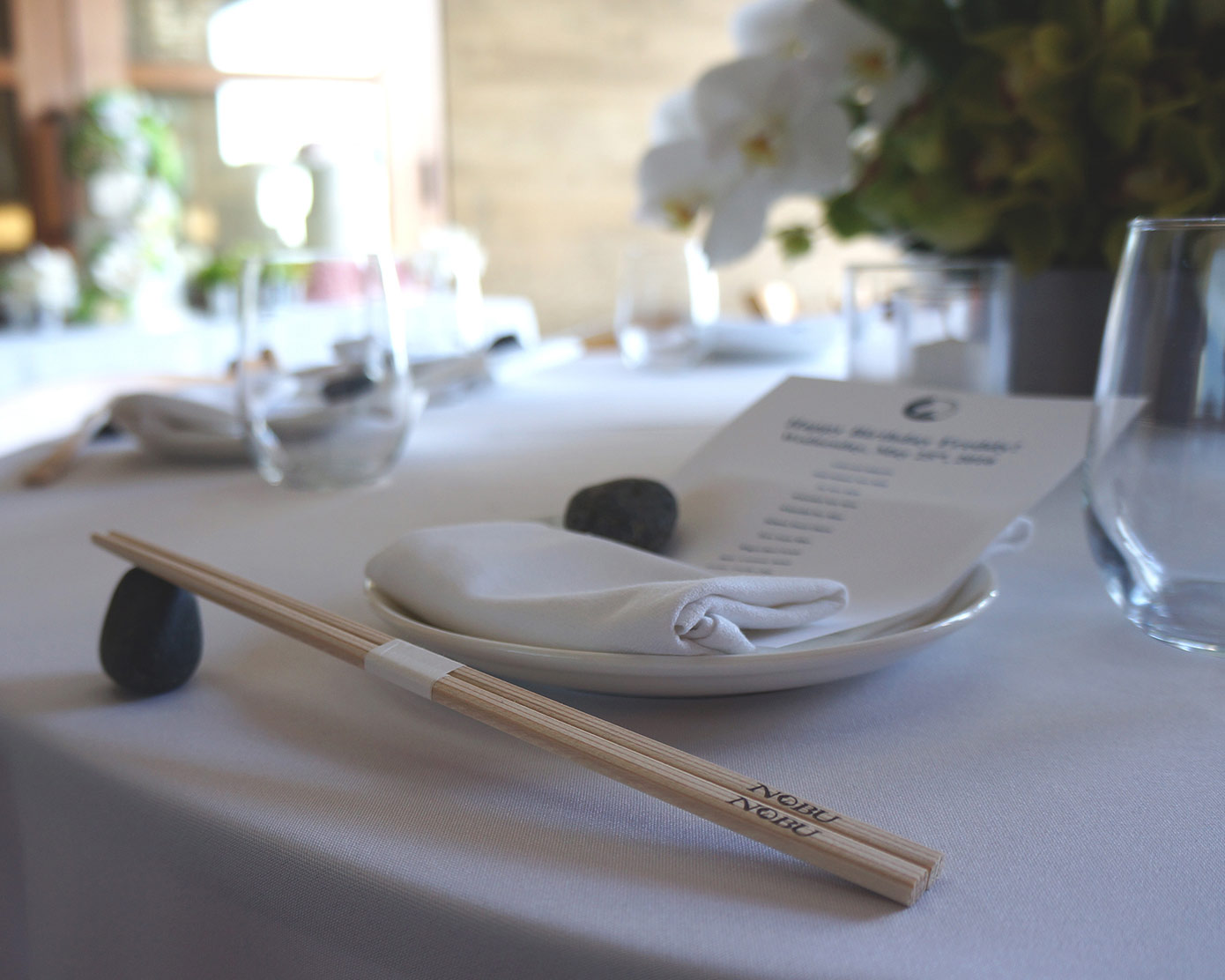 SPECIAL EVENTS  at Nobu Malibu