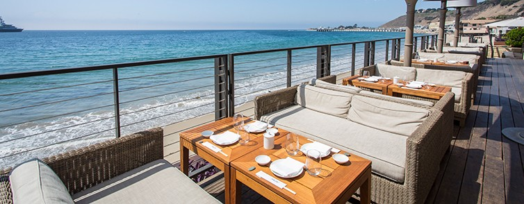 NOBU BY THE BEACH   at Nobu Malibu